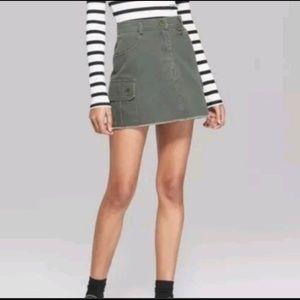 NWT Cargo Skirt